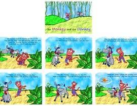 nº 25 pour Illustrate and layout Children's story par Nileshkrlayek