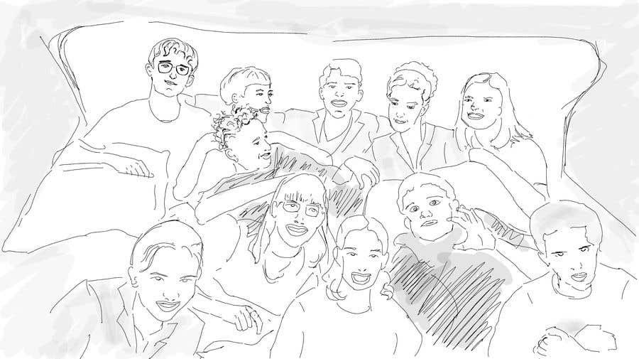 Kilpailutyö #                                        25                                      kilpailussa                                         Draw a high quality picture based on a picture