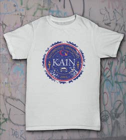 #4 cho Design for a t-shirt for Kain University using our current logo in a distressed look bởi drrazen