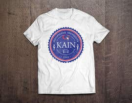 #19 for Design for a t-shirt for Kain University using our current logo in a distressed look by Mishka2013