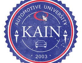 #20 para Design for a t-shirt for Kain University using our current logo in a distressed look de Mishka2013