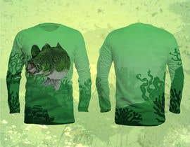 #92 untuk T-Shirt Design (Fishing Shirt) oleh antlerhook