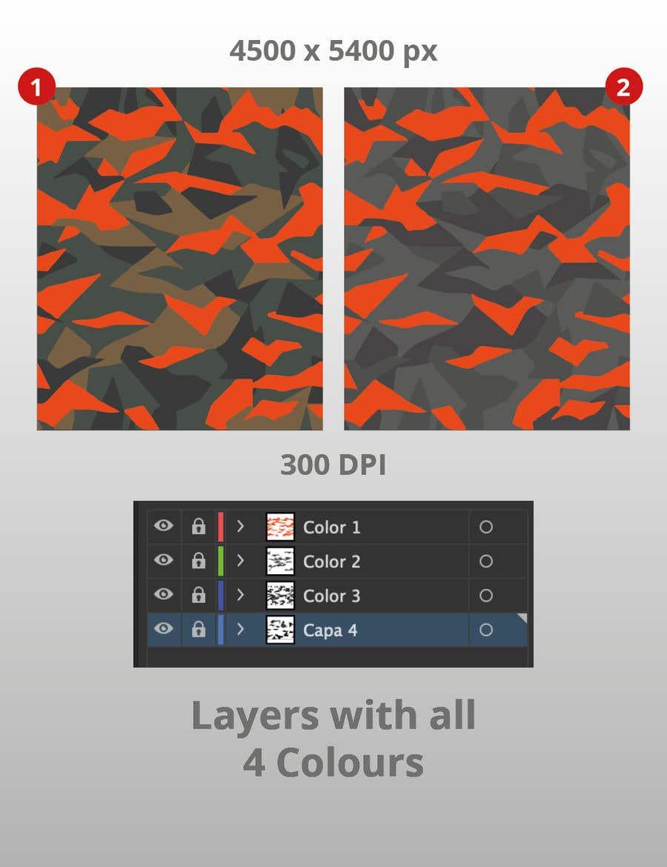 Kilpailutyö #                                        20                                      kilpailussa                                         Create a Camouflage Pattern