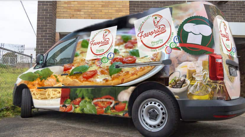 Proposition n°                                        37                                      du concours                                         build a pizza restaurant desing in a car