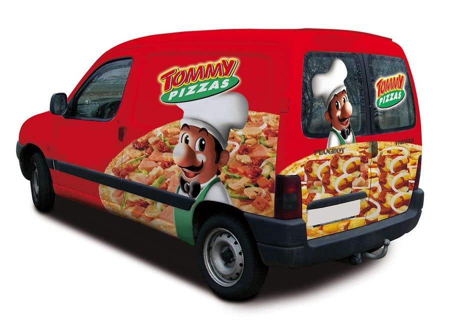 Proposition n°                                        36                                      du concours                                         build a pizza restaurant desing in a car