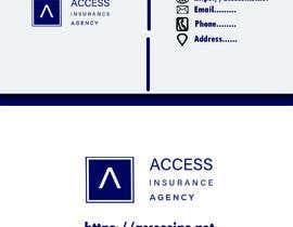 "#53 for Need a 2"" x 3.5"" Standard business card design af Rabeyascreation"