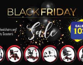 Nro 104 kilpailuun Black Friday Sale Banner käyttäjältä ArROBIUL