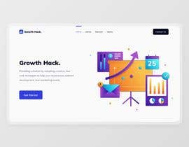 Nro 76 kilpailuun Design a website for my digital agency käyttäjältä bangday19