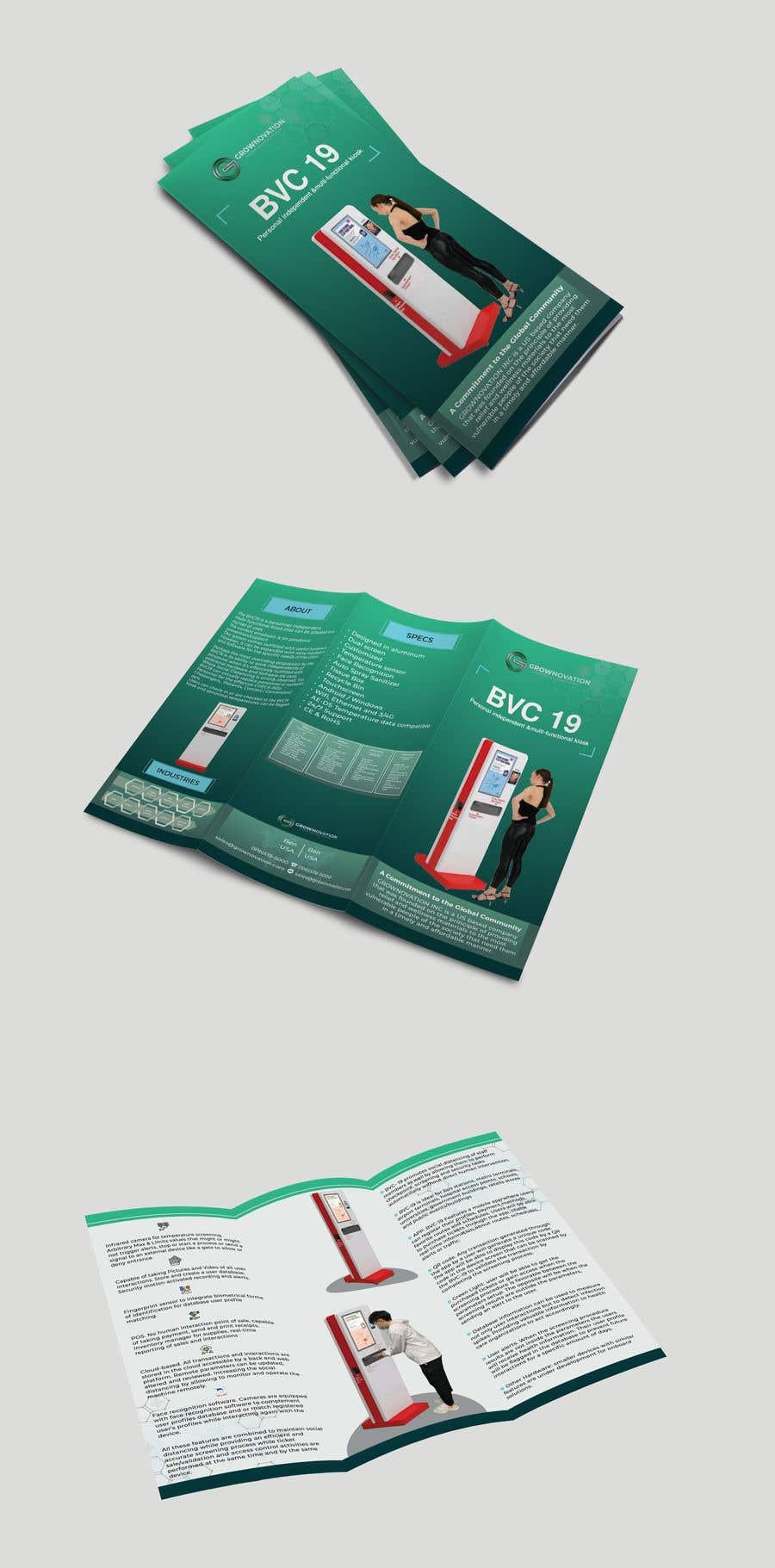 "Konkurrenceindlæg #                                        5                                      for                                         Design of one page brochure: Tri Fold 8.5"" x 11"""