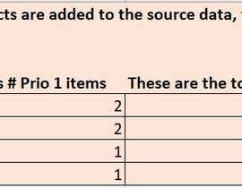 amnamuddassar tarafından Create some formulas for a simple Excel sheet için no 32