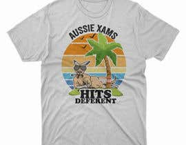 #46 for Design a stoner Kangaroo on the beach Christmas T-Shirt by DesignerARS
