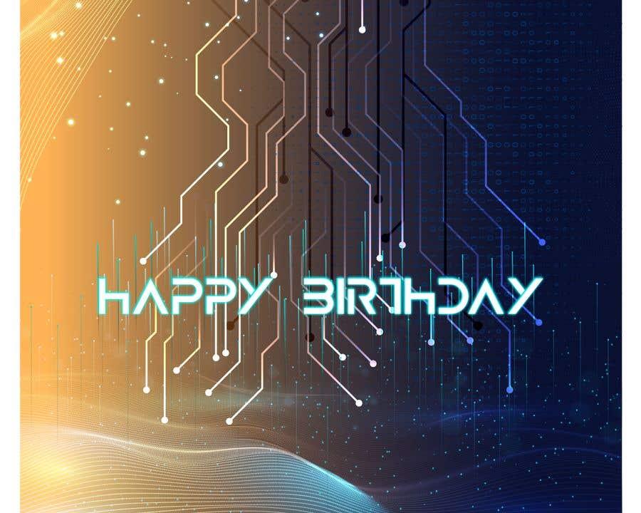 Konkurrenceindlæg #                                        88                                      for                                         Birthday Card design
