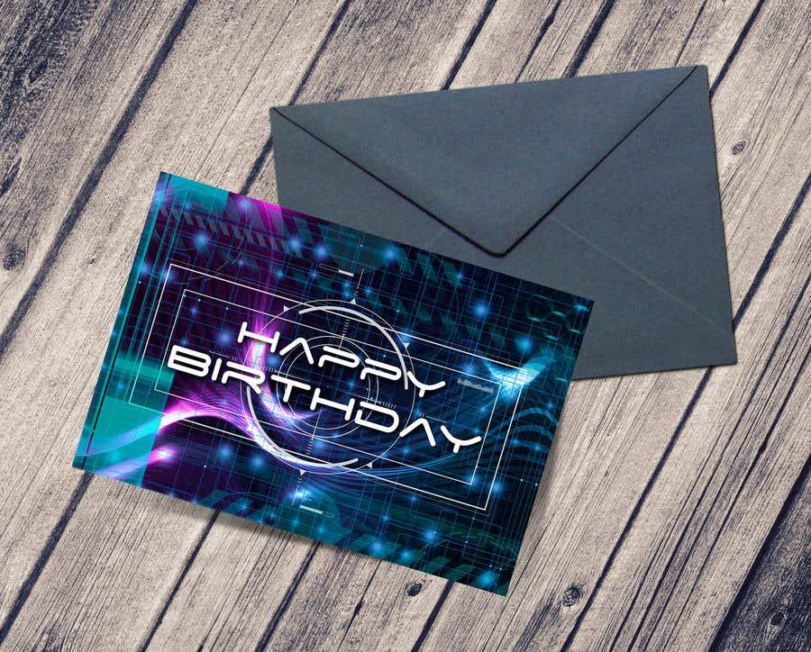 Konkurrenceindlæg #                                        42                                      for                                         Birthday Card design