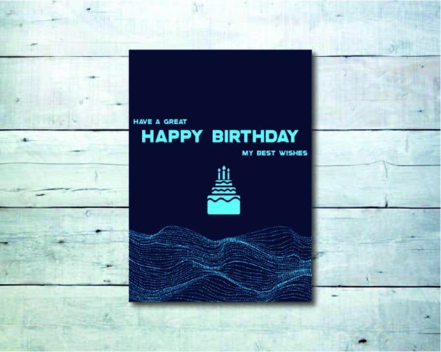 Konkurrenceindlæg #                                        59                                      for                                         Birthday Card design