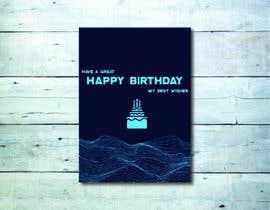 #59 for Birthday Card design af nafisaquraishi