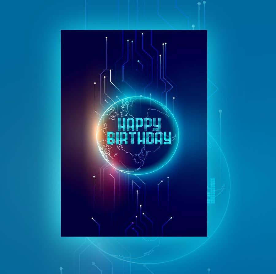 Konkurrenceindlæg #                                        94                                      for                                         Birthday Card design