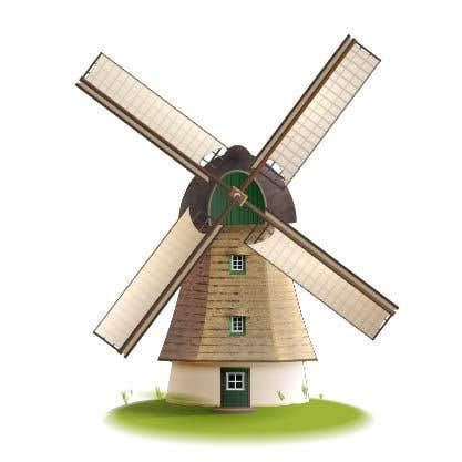 Bài tham dự cuộc thi #                                        27                                      cho                                         Illustrate and Animate Original Old-Fashioned Windmill