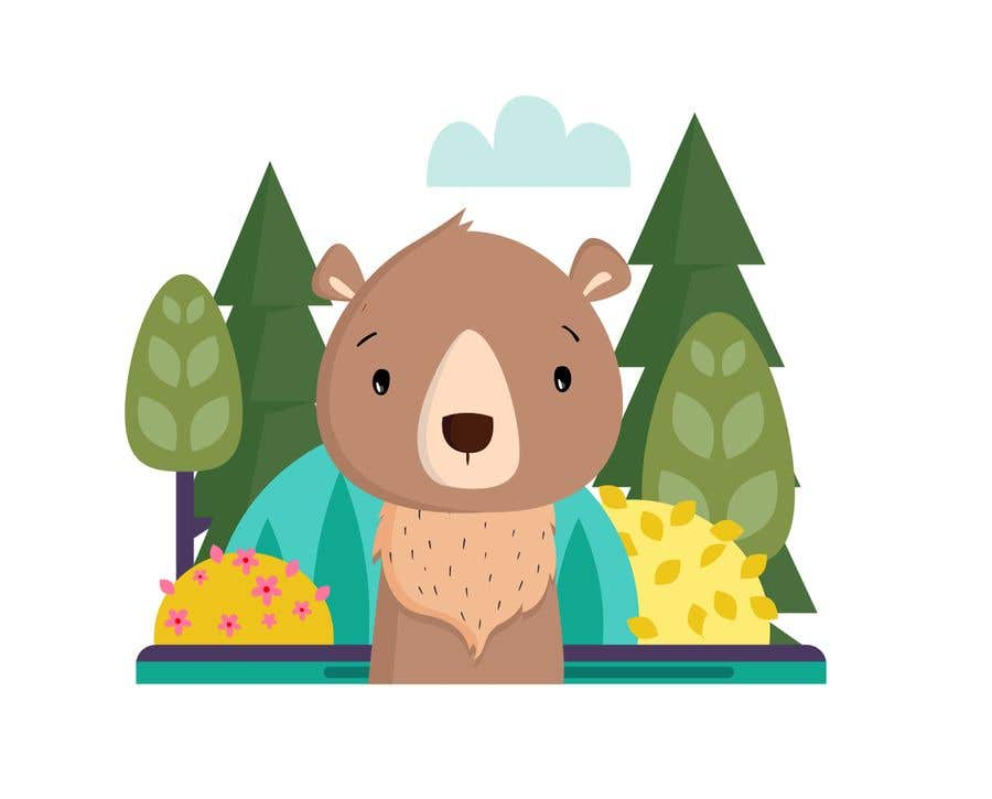 Contest Entry #                                        36                                      for                                         Cute bear vector illustration