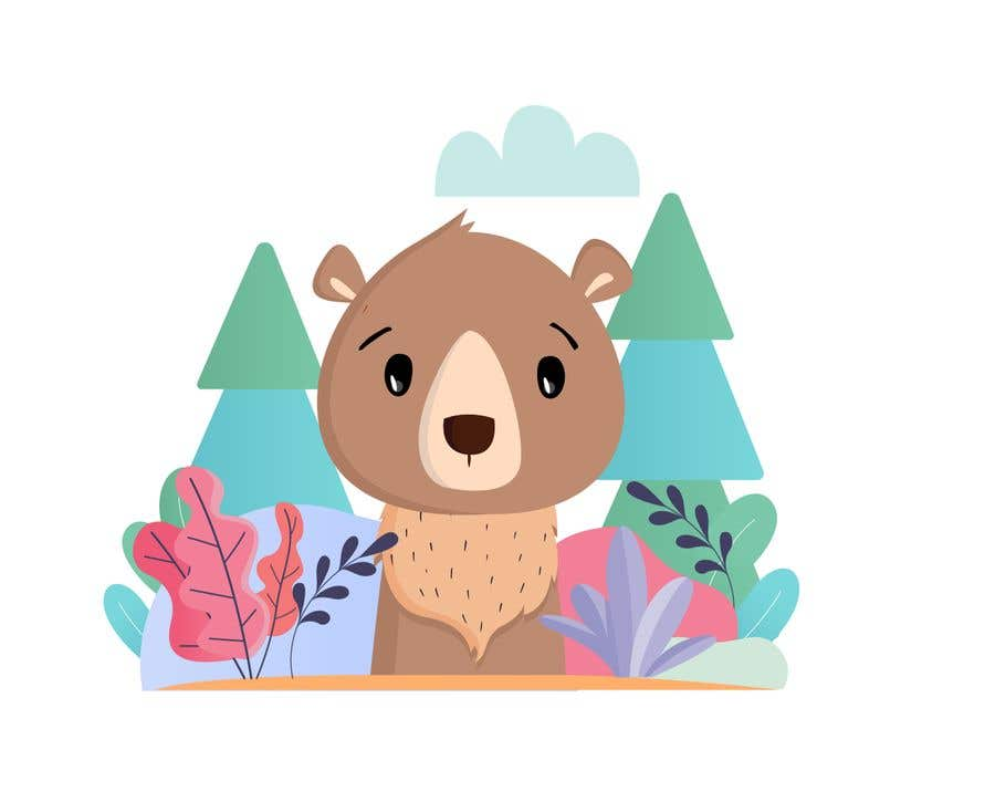 Contest Entry #                                        40                                      for                                         Cute bear vector illustration