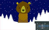 Graphic Design Contest Entry #45 for Cute bear vector illustration
