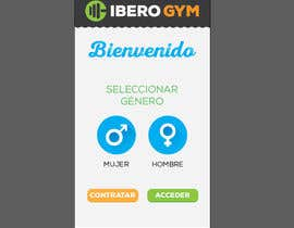 #47 para Design an App Mockup for a Gym por jakuart