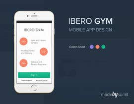 #10 cho Design an App Mockup for a Gym bởi isumit96