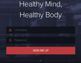 #21 cho Design an App Mockup for a Gym bởi edbryan