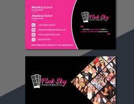 #213 cho Fun and Creative Photo Booth Business Card (2-sided) bởi Nayefhaque