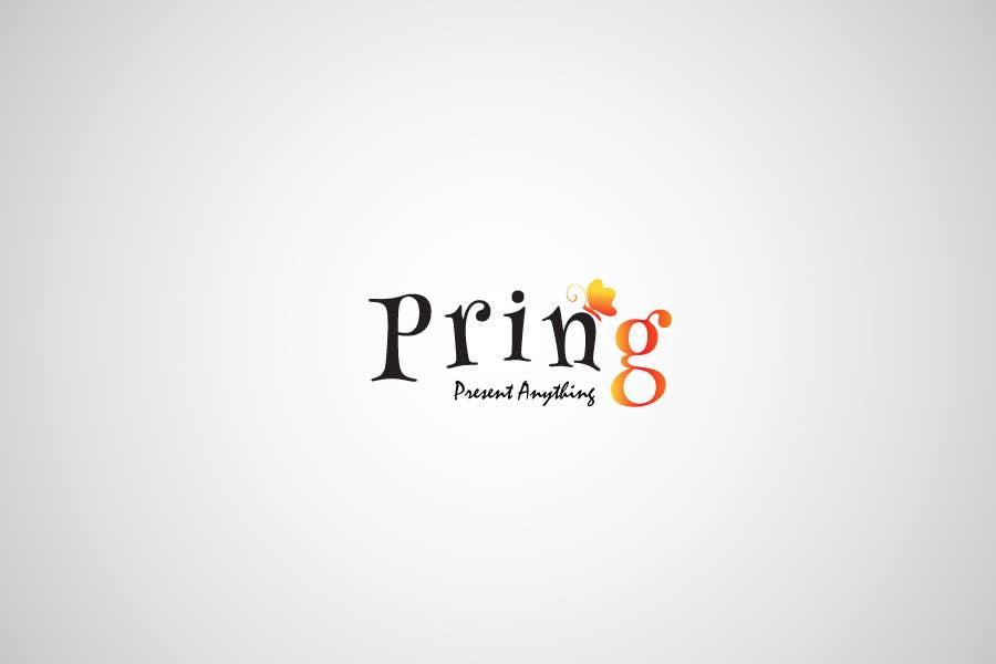 Konkurrenceindlæg #35 for Logo Design for Pring