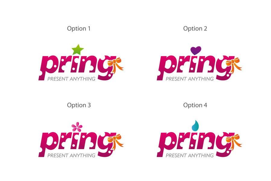 Konkurrenceindlæg #71 for Logo Design for Pring