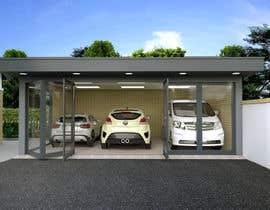 #98 para Car Garage Design por acepcuyana