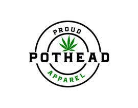 #320 for Proud Pothead Apparel - Logo and graphic designs af eusufahmedpalas9
