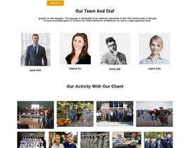#61 cho Create Homepage Design bởi shobnummustary