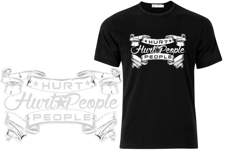 Participación en el concurso Nro.                                        59                                      para                                         Design a T-Shirt for HURT PEOPLE