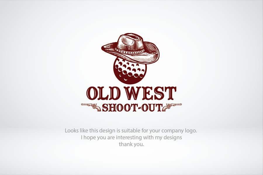 Kilpailutyö #                                        215                                      kilpailussa                                         LOGO -  Western Theme Mini Golf