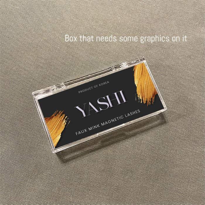Konkurrenceindlæg #                                        41                                      for                                         original design graphic work for eyelash box