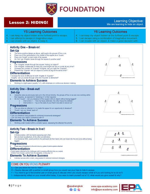 Penyertaan Peraduan #                                        15                                      untuk                                         Create a template for my soccer Scheme of work from my existing PDF to make look better