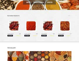 Ankur0312 tarafından Design for a completely new online shop, selling spices -- 2 için no 8