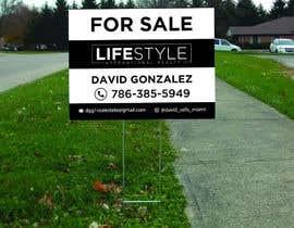 #52 untuk David Gonzalez - For Sale Sign oleh mdshifatsarkar