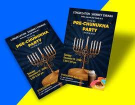 #96 untuk Design a Flyer for a Chanukah Party oleh designerinan