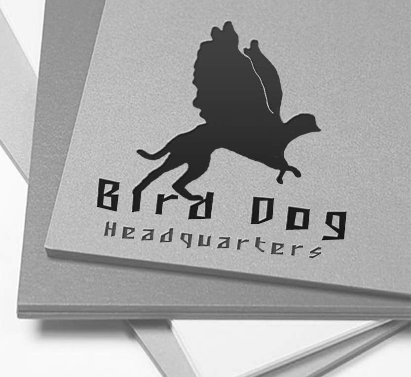 Natečajni vnos #                                        11                                      za                                         Design a Logo for Bird Dog Headquarters