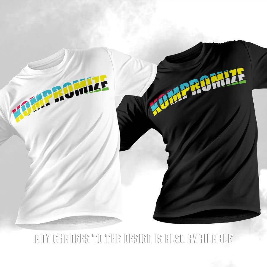 Penyertaan Peraduan #                                        68                                      untuk                                         Kompromize Logo and T-shirt Design