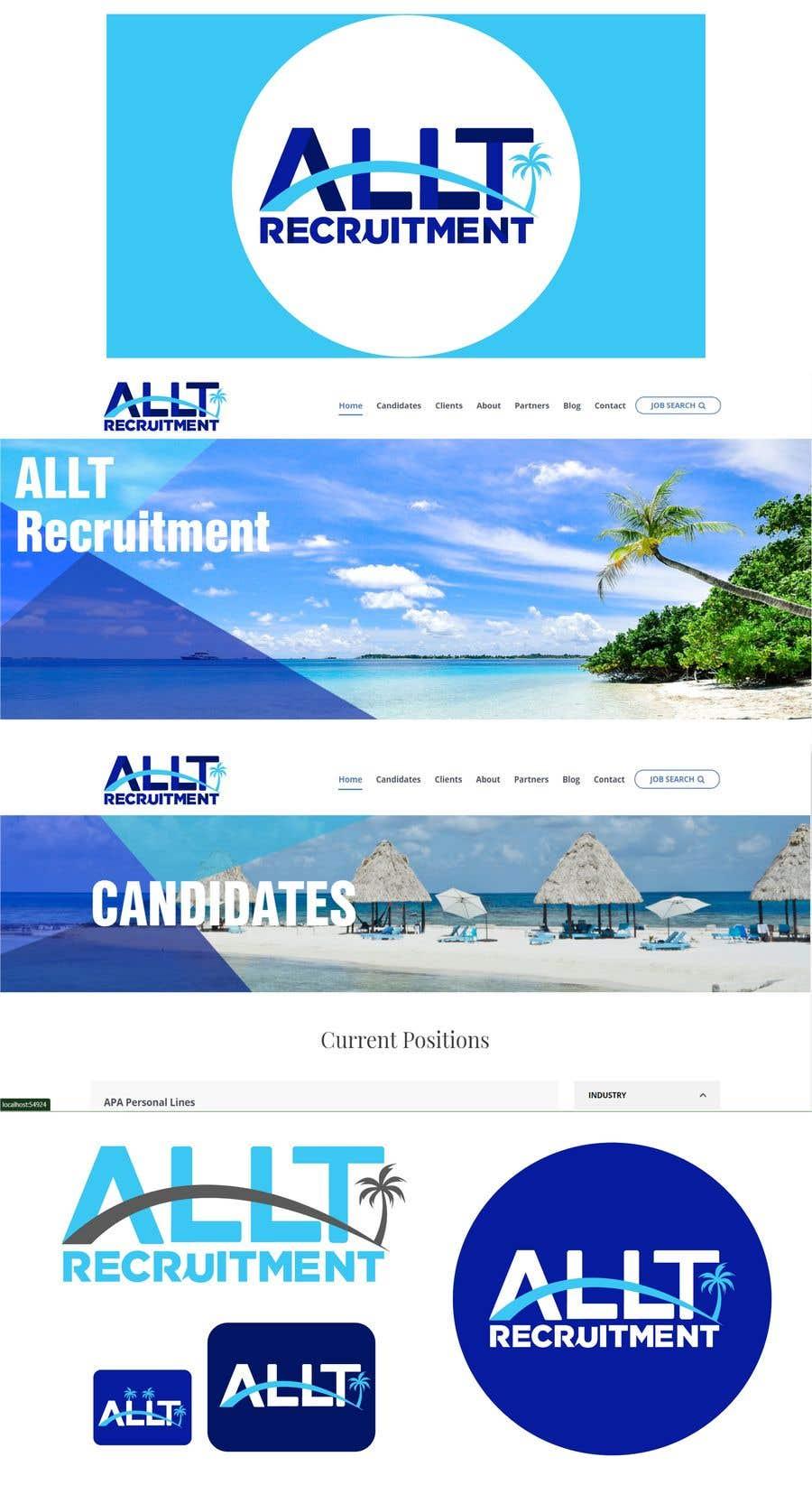 Penyertaan Peraduan #                                        221                                      untuk                                         Logo Design for Recruitment Website