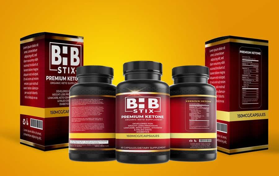 Penyertaan Peraduan #                                        234                                      untuk                                         BHBStix Logo and packaging design.