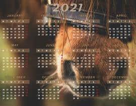 #44 for Calendar for 2021 by AnnWerta