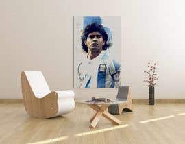 #79 for Diego maradona graffiti canvas art by boeroiu3manuel