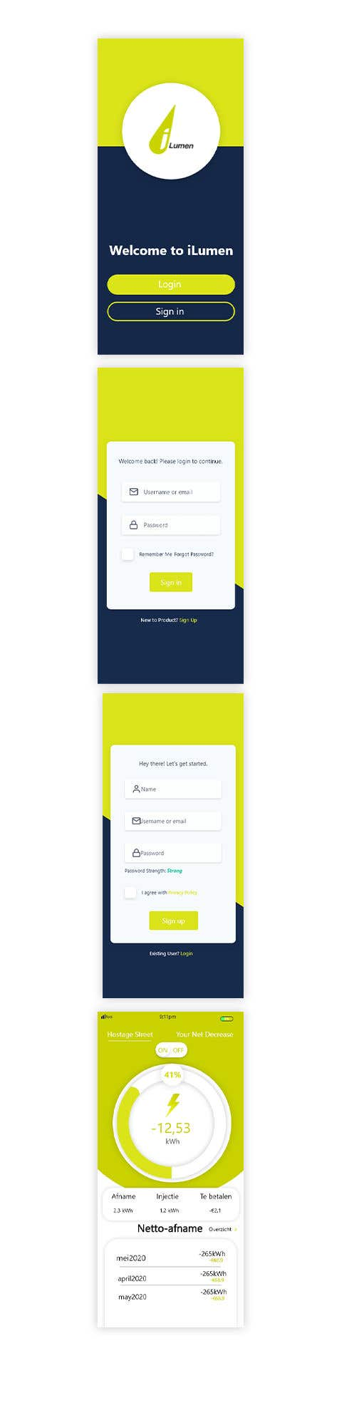 Penyertaan Peraduan #                                        8                                      untuk                                         Dashboard UI of EV Charger App