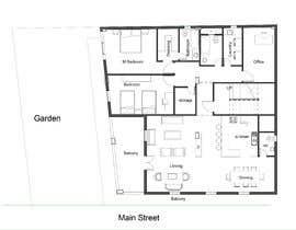 Nro 28 kilpailuun Design the architecture of home (190mq) käyttäjältä arcalaamohamed