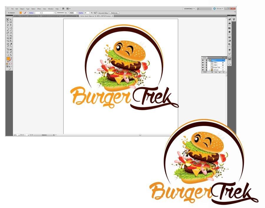 Konkurrenceindlæg #                                        4                                      for                                         Design a logo for a burger shop