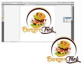 nº 4 pour Design a logo for a burger shop par ralfgwapo